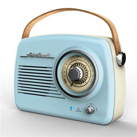 Art + Sound Wireless Vintage Radio [Blue]   FYE
