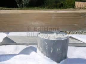 faire une terrasse en bois sur plot beton myqto