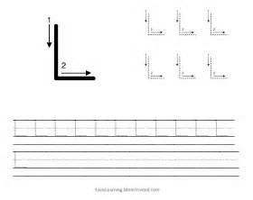 Capital Letter L Worksheets