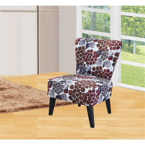 orange fabric accent chair c 050 the home depot
