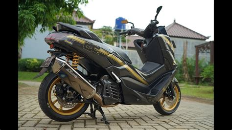 Modifikasi Yamaha Nmax by 70 Modifikasi Motor Yamaha Nmax Hitam Modifikasi Yamah Nmax