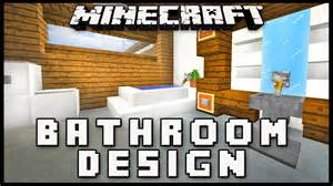 minecraft bathroom designs minecraft how to make a modern bathroom design house build ep 17