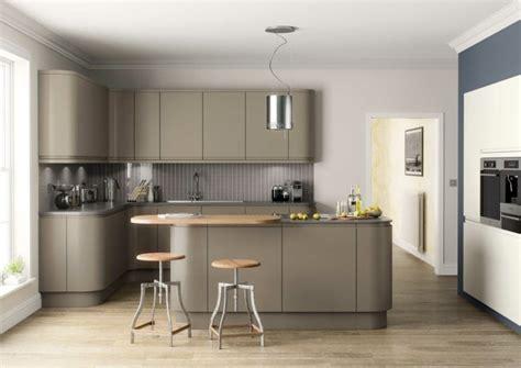 meuble cuisine et gris cuisine taupe 51 suggestions charmantes et très tendance