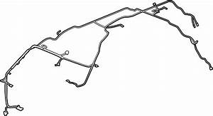 Chevrolet Tahoe Headliner Wiring Harness  Right  Front   W