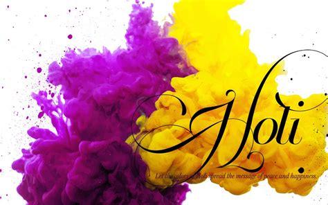 hd holi wallpaper  yellow  purple color hd
