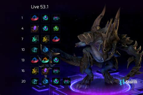 The teamfight tactics tier list splits the champions into six tiers based on their strength and usefulness. Dehaka | Talent Calculator Psionic Storm - Heroes of the Storm