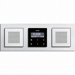 Gira Unterputz Radio Rds : gira unterputz radio e22 mit rds funktion stereo mit 2 ~ A.2002-acura-tl-radio.info Haus und Dekorationen