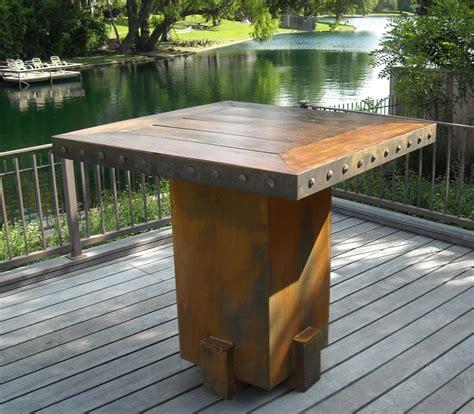 Backyard Table by Bentintoshape Net Announces Eco Friendly Sinker Cypress