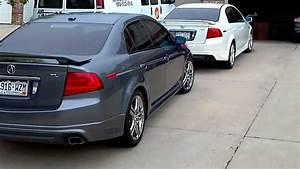 2004  U0026 2005 Acura Tl Walk Around A-spec Add Ons