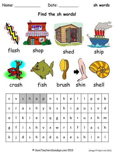 Sh Phonics Lesson Plan, Worksheets And Activities By Saveteacherssundays  Teaching Resources Tes