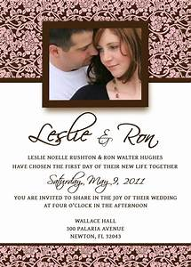 homemade wedding invitation template invitation With wedding invitations sent by email