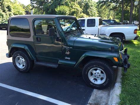 Jeep Wrangler Color Hardtop by Find Used 1999 Jeep Wrangler Hardtop 2 Door In
