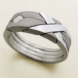 15 unique wedding rings weddingwoowcom weddingwoowcom for Cool wedding rings men