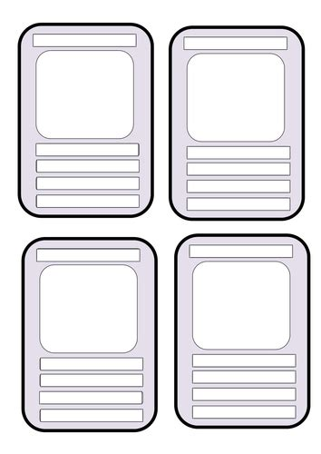 blank educational top trumps template  andream