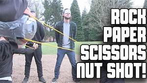 Rock, Paper, Scissors, Nut Shot! | WheresMyChallenge w ...