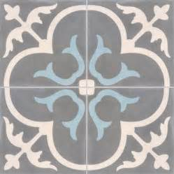 Carreaux De Ciment Leroy Merlin Prix by Carreau De Ciment Premium Ch 226 Teau Gris Bleu 40 X 40 Cm