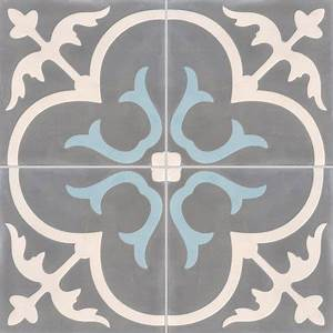 carreau de ciment premium chateau gris bleu 40 x 40 cm With carreau de ciment point p