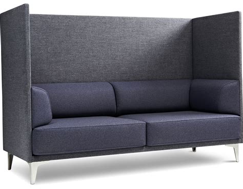 Ej400 Apoluna Box High Back 2 Seat Sofa Hivemoderncom