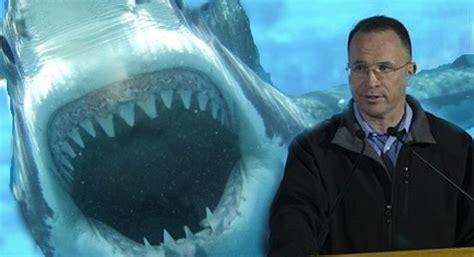 Seaworld President Fed Figurative Then Literal Sharks
