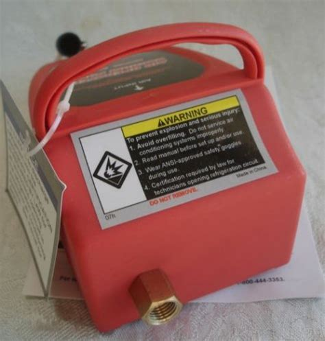 Air Conditioner Venturi Type Ac Vacuum Pump R12 R134a