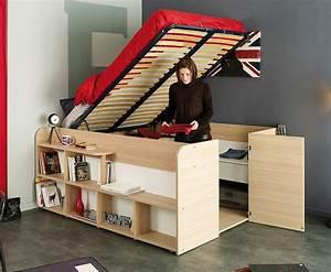 Space, Saving, Storage, Bed
