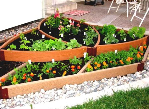 garden landscaping creative container vegetable