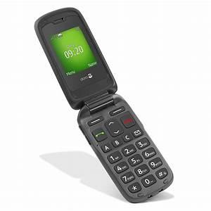 Abonnement Presse Pas Cher : doro phoneeasy 605 noir mobile smartphone doro sur ~ Premium-room.com Idées de Décoration