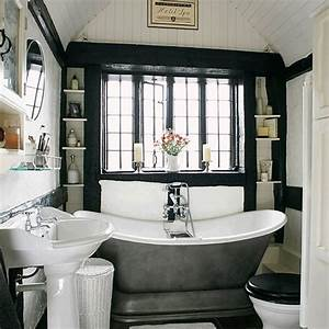 71 cool black and white bathroom design ideas digsdigs for Black and white bathroom ideas