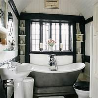 black and white bathroom decor 71 Cool Black And White Bathroom Design Ideas - DigsDigs