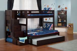 allentown twin over twin bunk bed espresso bedz king twin