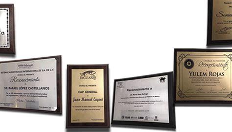 reconocimientos y placas urgentes reconocimientos