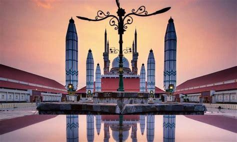 gambar masjid agung jawa tengah majt semarang hotel