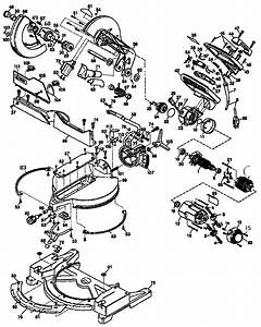 Dewalt Miter Saw Wiring Diagram   31 Wiring Diagram Images