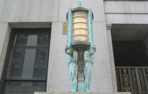 deco architecture new york deco lanterns on a centre building ephemeral new york
