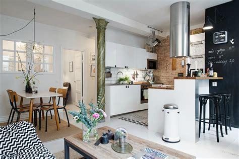 cuisine ouverte petit espace cuisine ouverte dans un petit espace saelens déco