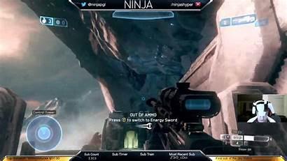 Ninjashyper Streamer Wallpapers Halo Wallpaperaccess Backgrounds Rumble