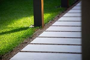Dalle De Jardin Beton : 29 id es pour int grer le gravier d coratif dans votre jardin ~ Melissatoandfro.com Idées de Décoration