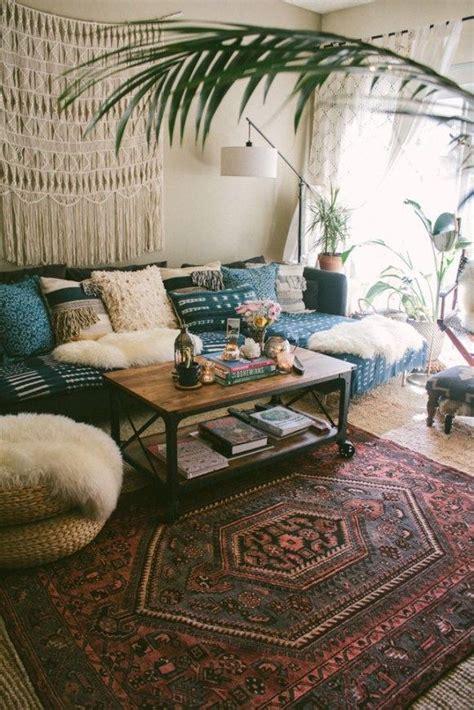 Living Room Home Decor Ideas by Boho Decorating Ideas For Your Cozy Home 17 Decor