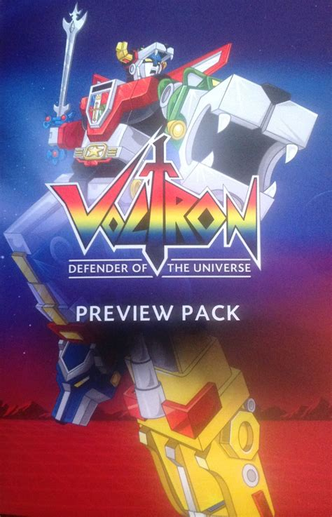 cards verses voltron pack presents trading detailed