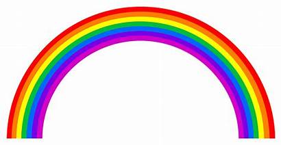 Rainbow Clipart Vector Rainbows Glitter Cliparts Speed