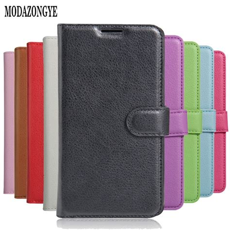 Wallet PU Leather Back Cover Phone Case For Asus ZenFone ...
