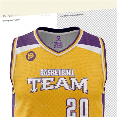 Please note, the 3d model is intentionally simplified and optimized for viewing in your browser. Men's V-Neck Basketball Jersey Mockup by TRDesignme ...