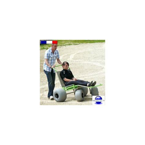 fauteuil roulant tout terrain baroudeur aquagyms fr