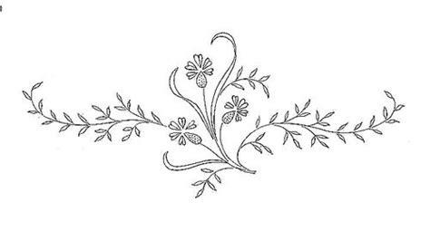 Flores Dibujos Plantillas De Flores Para Bordar A Mano