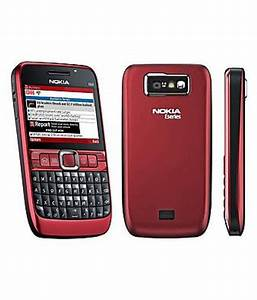 Nokia E63   128 Mb   256 Mb   Black Red Mobile Phones