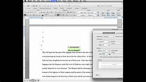 Microsoft Word Terms Thesis Dissertation Prep 6 Creating A Table Of Contents
