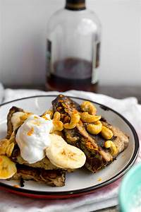 Cashew-Banana Bread French Toast with Whip