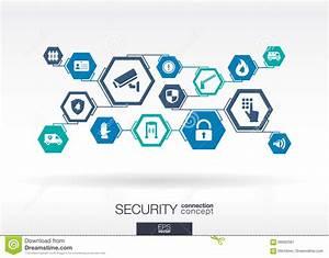 Abc Le Concept Sécurité : r seau de s curit fond abstrait d 39 hexagone illustration ~ Premium-room.com Idées de Décoration
