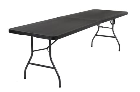 folding 8 foot table cosco products cosco deluxe 8 foot x 30 inch fold in