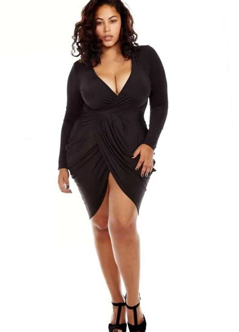 Attractive Plus Size Club Dresses Dolche Fashion